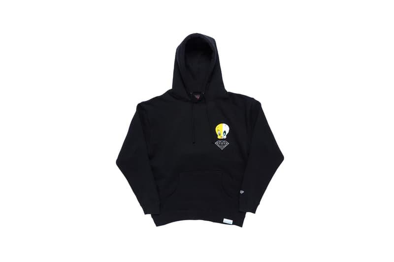 Looney Tunes x Diamond Supply Co. Collection Tweety Bird Hoodie Black