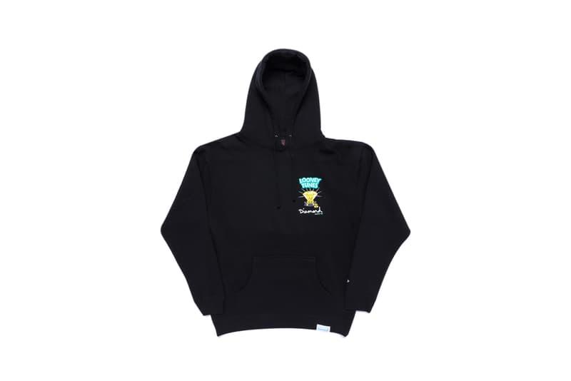 Looney Tunes x Diamond Supply Co. Collection Tweety Bird Hoodie Diamond Black
