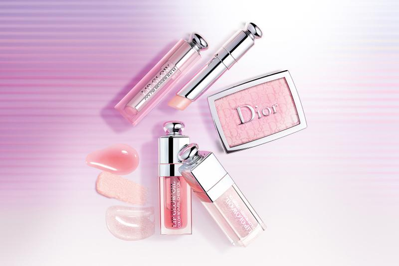 "Dior Beauty ""Glow Vibes"" Spring Summer 2020 Makeup Collection Lip Glow Oil Balm Backstage Rosy Glow"