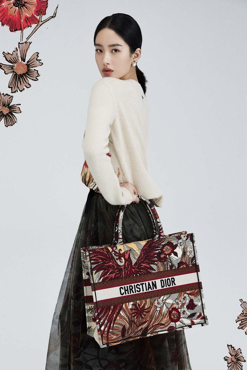 Dior Lunar New Year 2020 Collection Book Tote Phoenix