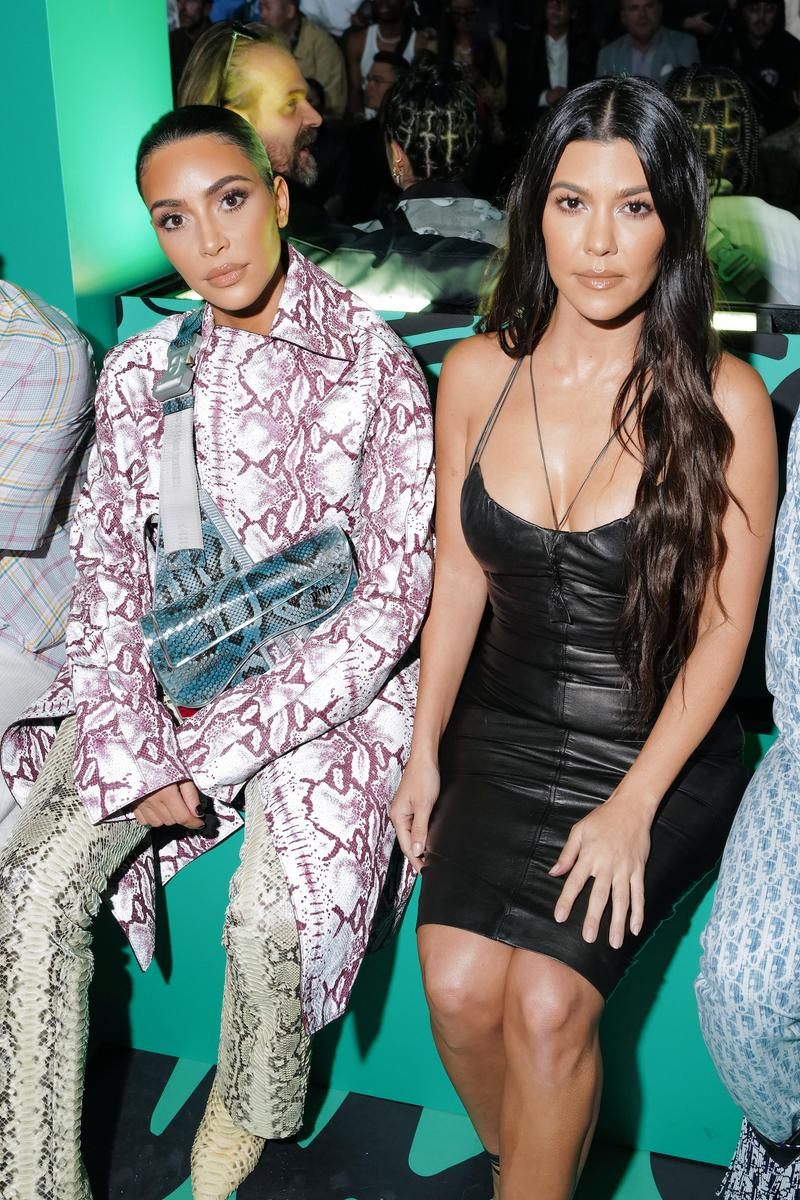Dior Pre-Fall 2020 Miami Show Front Row Guests Kim Kardashian Kourtney Kardashian Yoon Ahn Kim Jones Travis Scott Shawn Wotherspoon