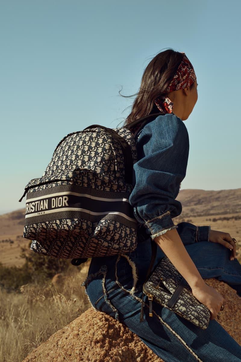 Dior Cruise 2020 Collection Campaign Luggage Tote Bag Logo Print Maria Grazia Chiuri