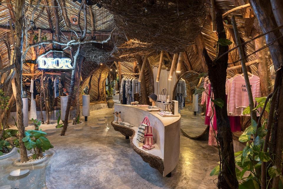 "Dior Debuts ""J'adior Tulum"" Capsule Collection at Mexico Pop-Up"