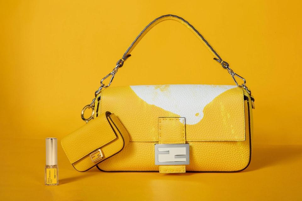 Fendi Releases Scented Baguette Bag with Perfumer Francis Kurkdjian