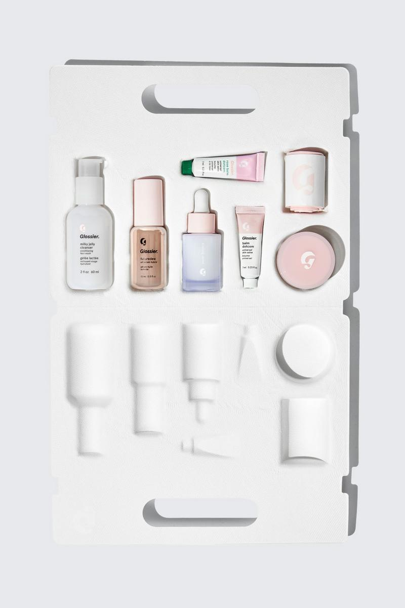 Glossier The Skincare Edit Milky Jelly Balm Dotcom Futuredew