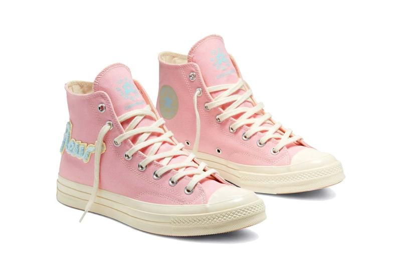"GOLF le FLEUR* ""Chenille"" Pink Chuck 70s Restock Blue Tyler, The Creator Converse Shoe"