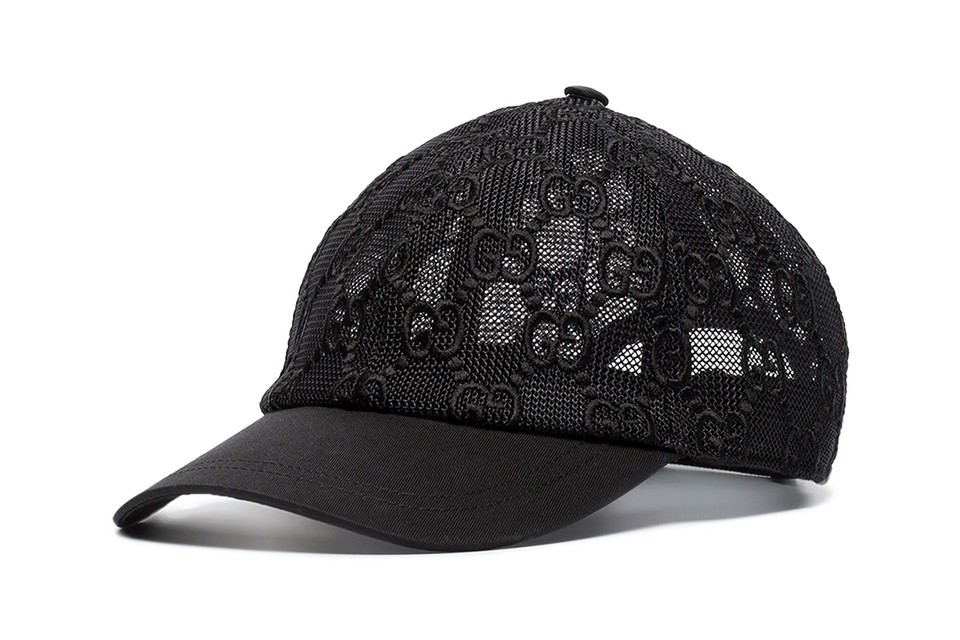 Get Game-Ready with Gucci's Logo Lace Cap
