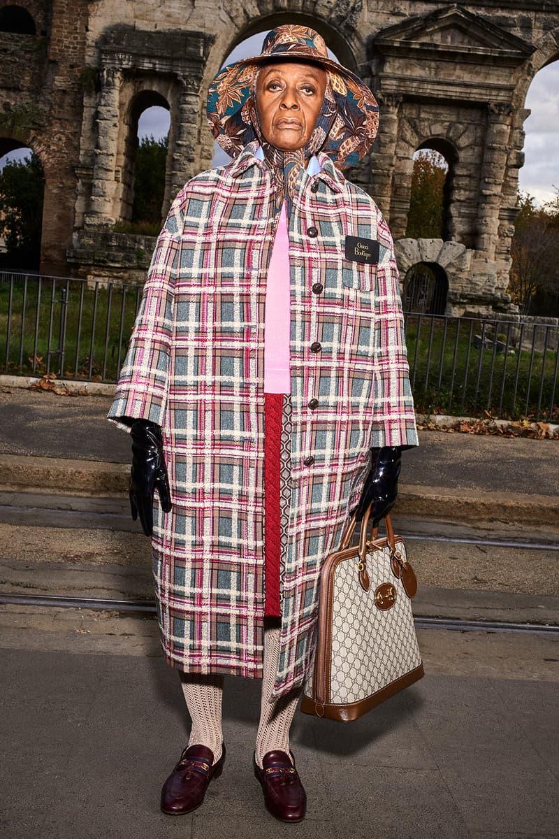 Gucci Pre-Fall 2020 Collection Lookbook Coat Plaid