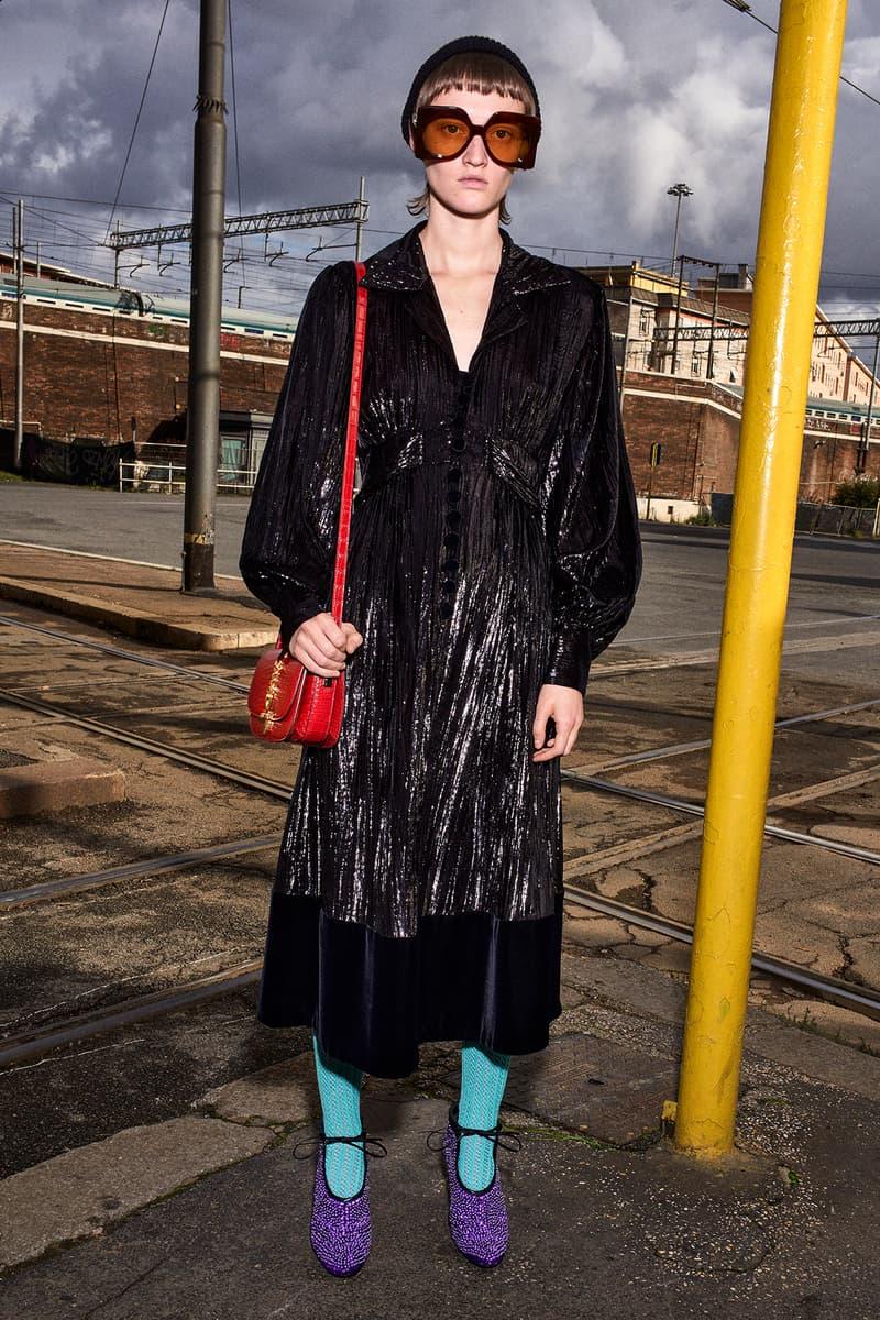 Gucci Pre-Fall 2020 Collection Lookbook Maxi Dress Black