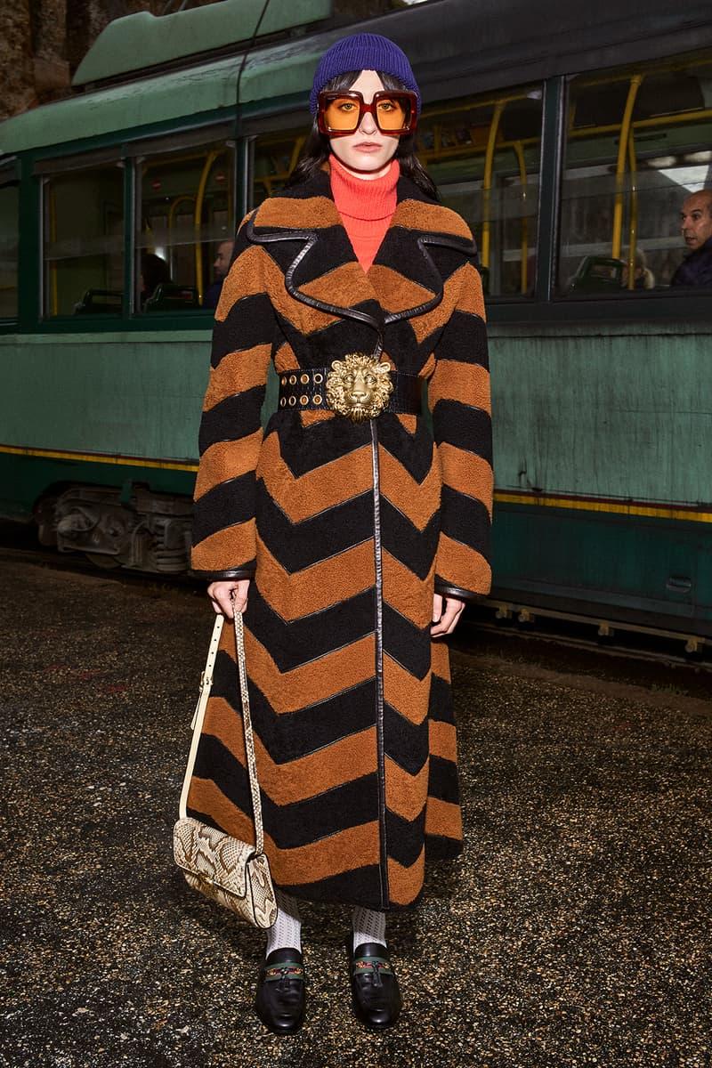 Gucci Pre-Fall 2020 Collection Lookbook Zig Zag Coat
