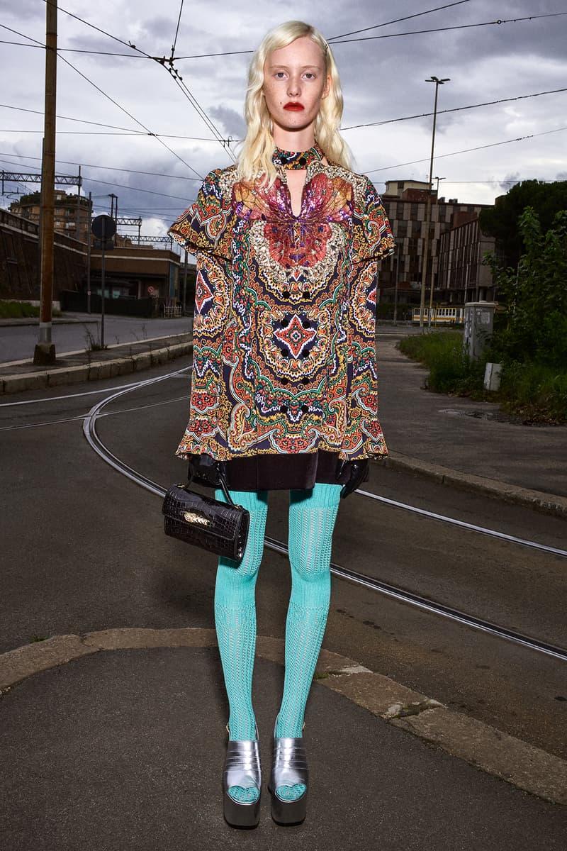 Gucci Pre-Fall 2020 Collection Lookbook Peasant Minidress