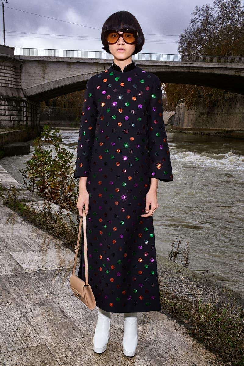 Gucci Pre-Fall 2020 Collection Lookbook Maxi Dress Polka Dot