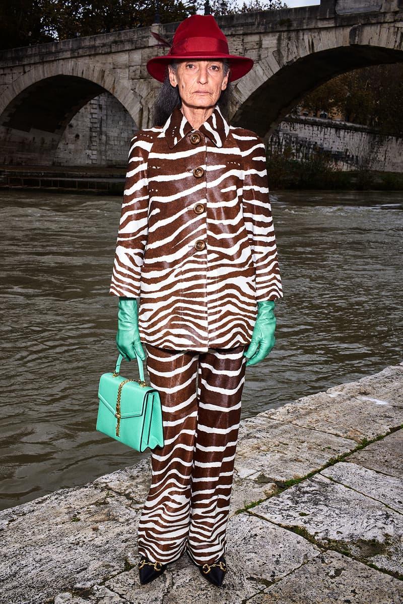Gucci Pre-Fall 2020 Collection Lookbook Zebra Suit