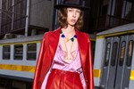Picture of Gucci's Pre-Fall 2020 Lookbook Features Bright Colors, Major Shine and Logo Lingerie