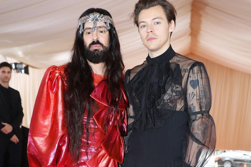 Harry Styles Alessandro Michele Gucci Met Gala 2019
