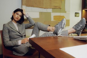 Picture of Out of Office: Our Latest Editorial Shows You How to Wear Sneakers With a Suit