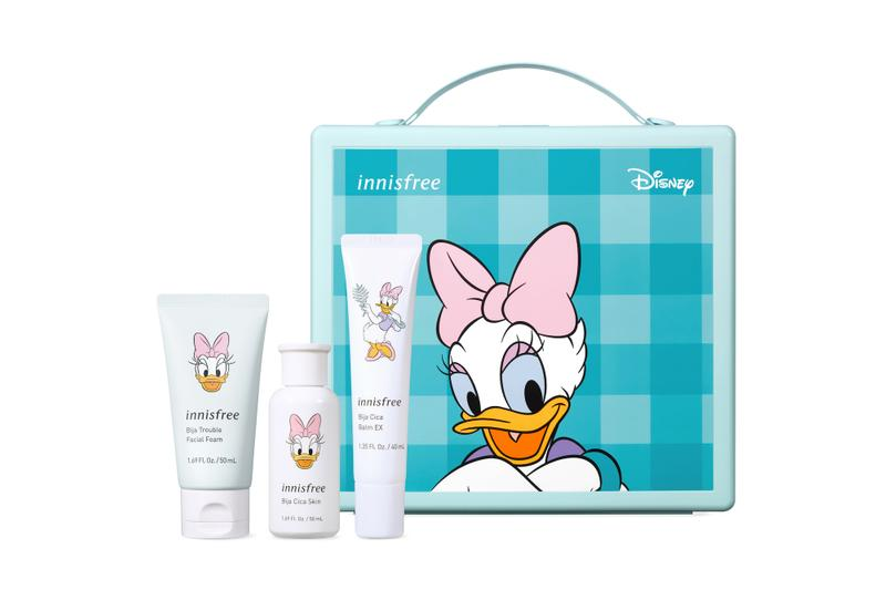 Innisfree Disney Skincare Beauty Makeup Collection K-Beauty Lip Balm Mirror Donald Duck Mickey Minnie Mouse