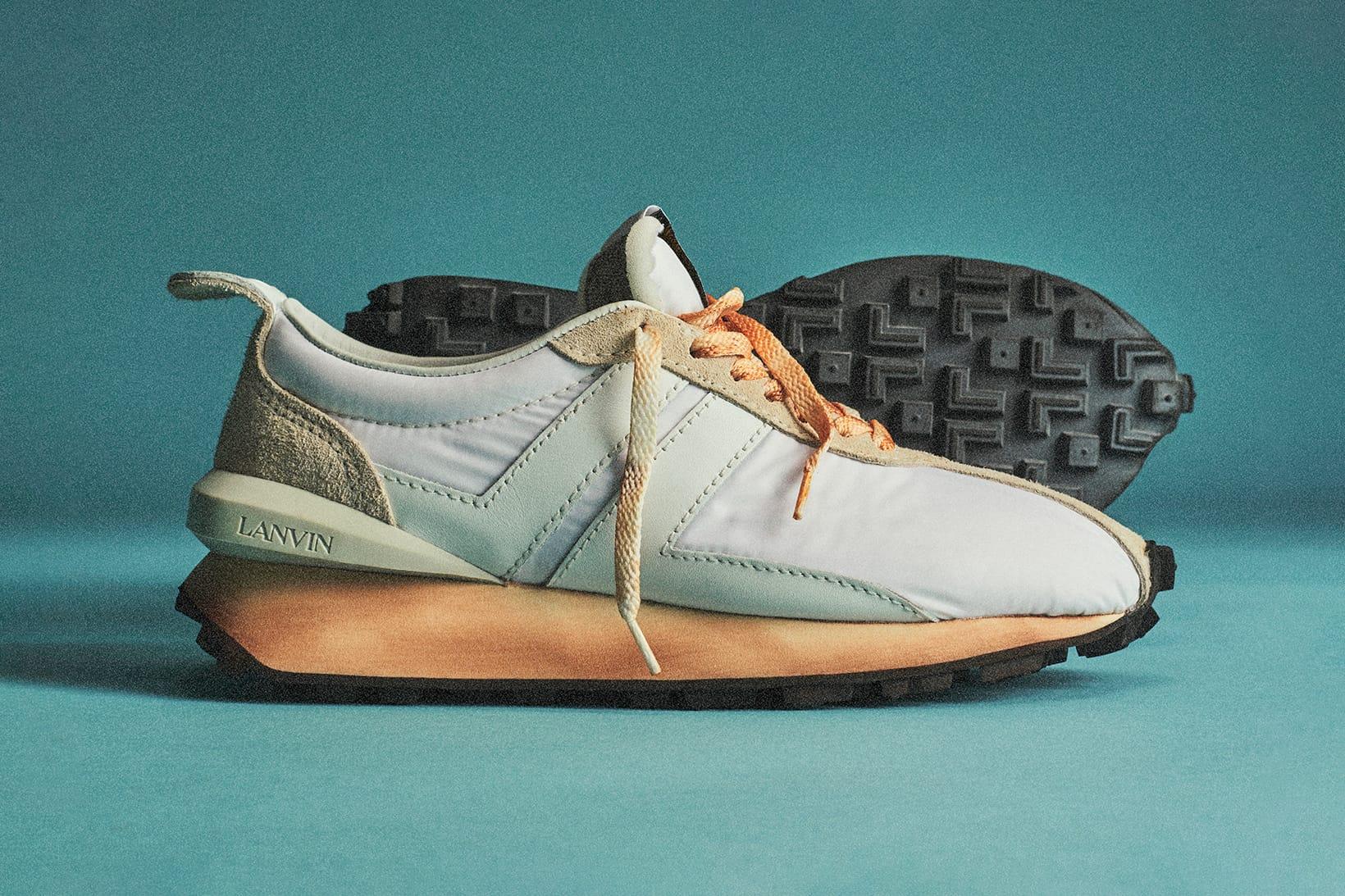 Lanvin's SS20 Bumper Sneaker Release