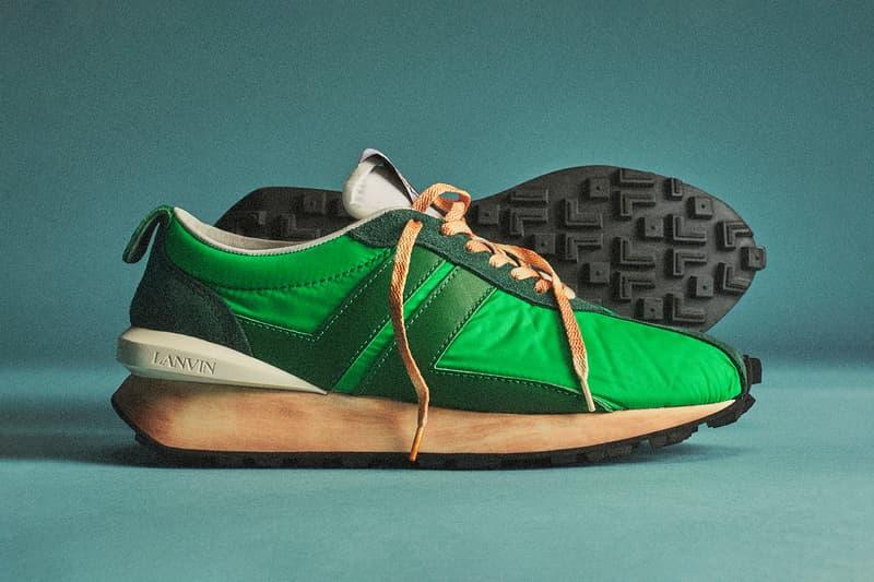 lanvin bumper sneake spring summer 2020 vintage shoes sneakerhead footwear