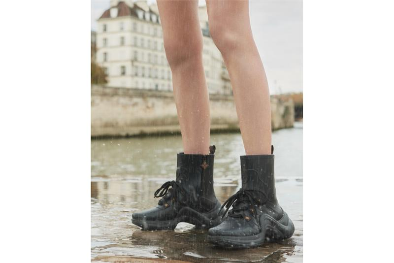 Louis Vuitton Rain Boots Rubber Archlight Sneaker Trainer Shoe Silhouette Heels Wellies LV