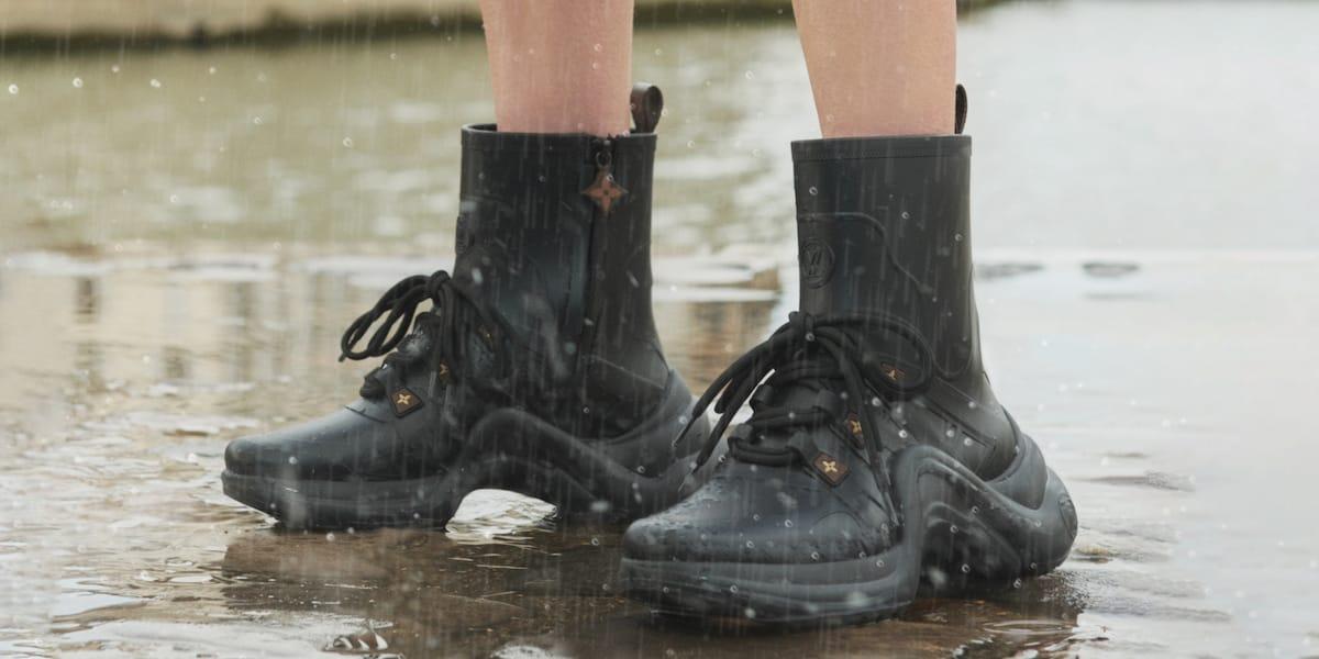 Louis Vuitton Rain Boots Rubber