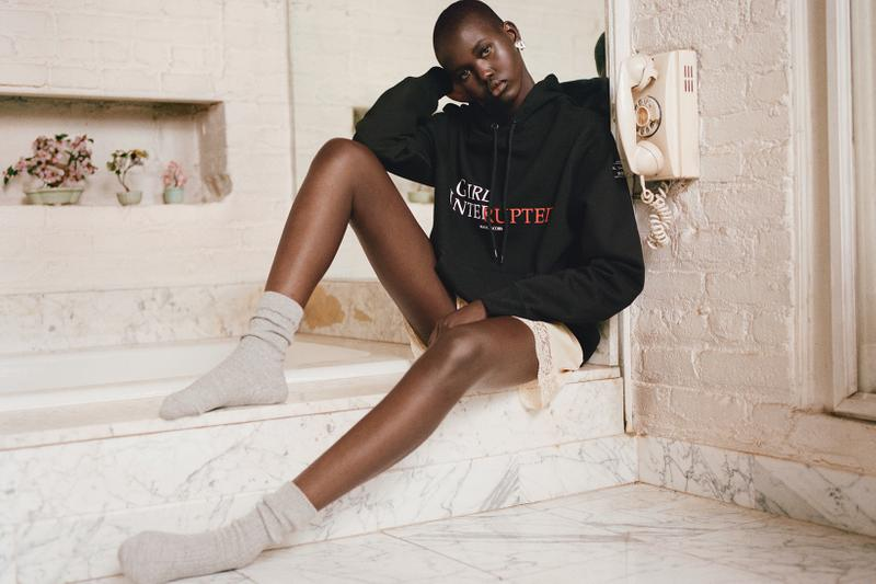 marc jacobs girl interrupted the trevor project collaboration adut akech movie charity t shirts hoodies sweatpants