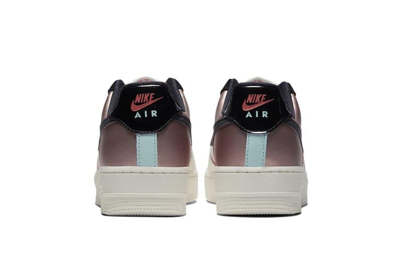 Nike Air Force 1 Glow-in-the-Dark Colorblock Sneaker Shoe Trainer Release Metallic Swoosh