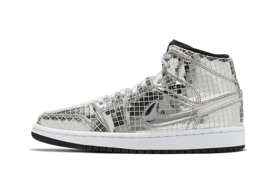 "Dazzle on the Dance Floor in Nike's Latest Air Jordan 1 Mid ""Disco Ball"" Sneaker"