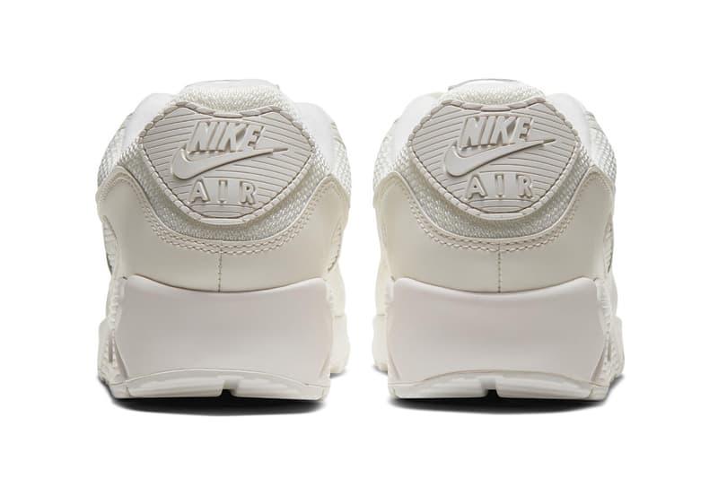 nike air max 90 cs sneakers off white cream shoes footwear sneakerhead