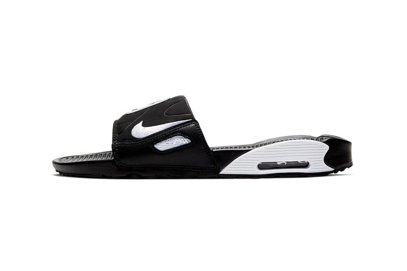 Nike Air Max 90 Slide Black/White
