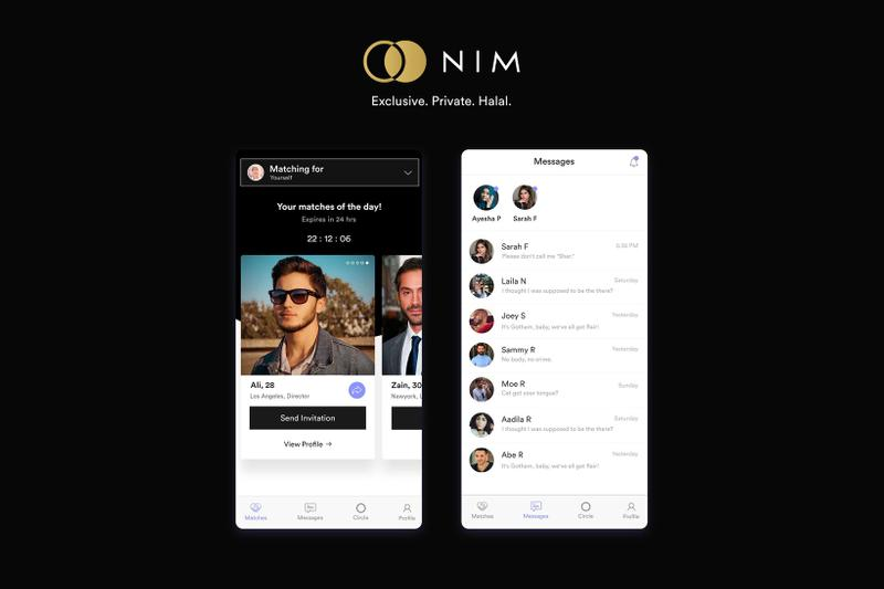 NIM Muslim Dating App Halal Sharia Compliant
