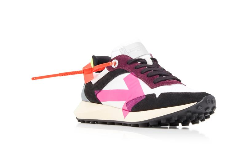 Off-White Arrow Sneaker White/Fuchsia Spring/Summer 2020