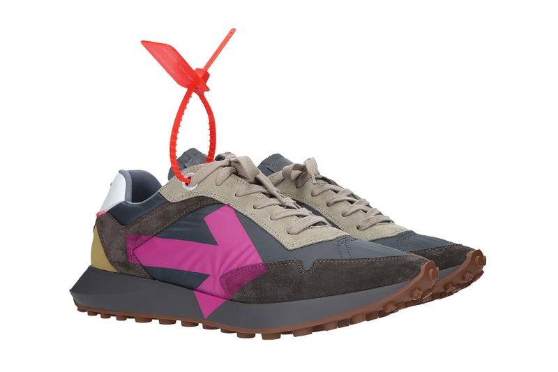 Off-White Arrow Sneaker Medium Grey/Fuchsia Spring/Summer 2020
