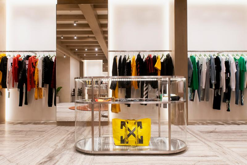 off white virgil abloh kuala lumpur malaysia store opening yours truly collection interior shopping