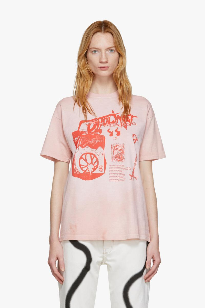 Ottolinger Logo Graphic T-Shirt Pink