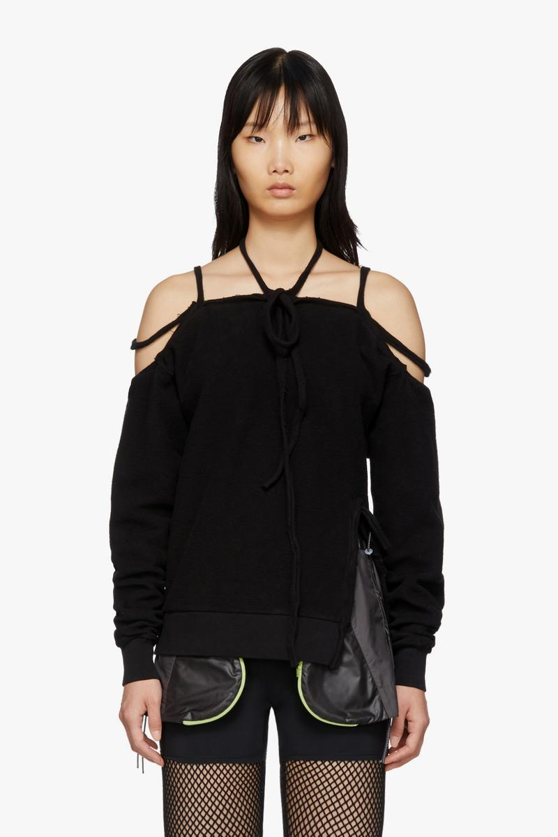 Ottolinger Halter Sweatshirt Black