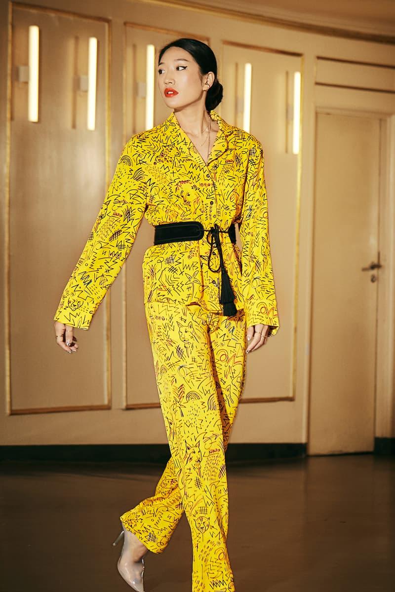 Peggy Gou x YOOX Pajamas Collection Top Pants Yellow