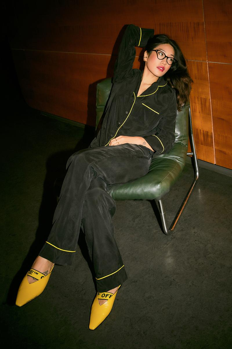 Peggy Gou x YOOX Pajamas Collection Set Black