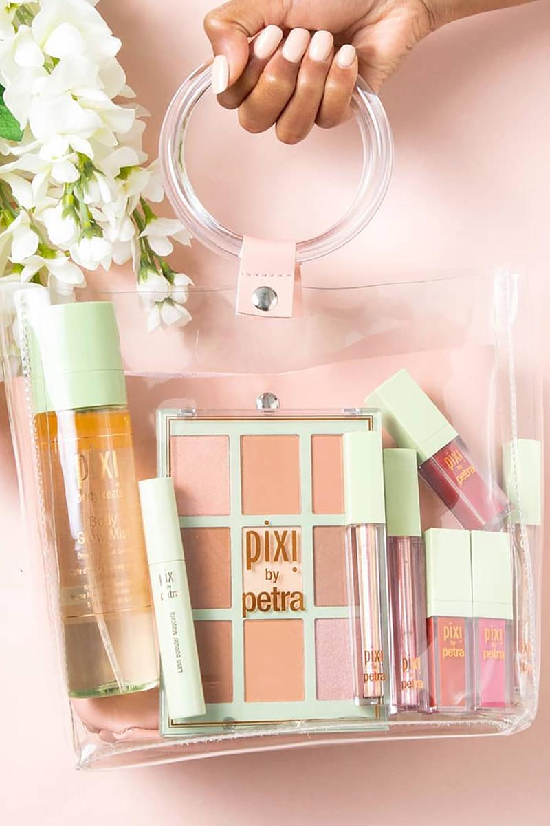 pixi beauty makeup skincare products glow tonic lipsticks