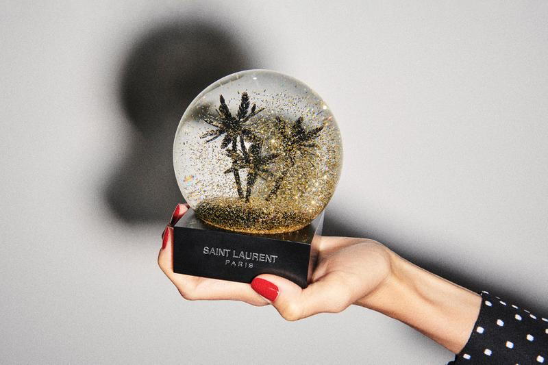Saint Laurent Holiday 2019 Collection Snow Globe