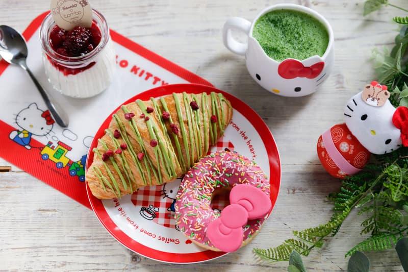Sanrio Cafe Tombo London Donut Matcha Croissant