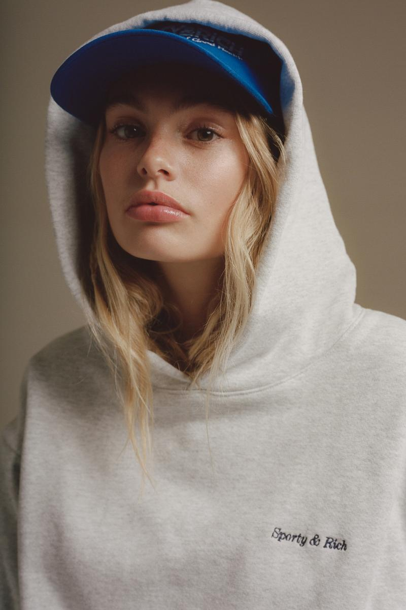 Sporty & Rich Fall/Winter 19 Collection Lookbook Emily Oberg Hoodies Print Sneakers T-Shirt Retro Inspired Fashion