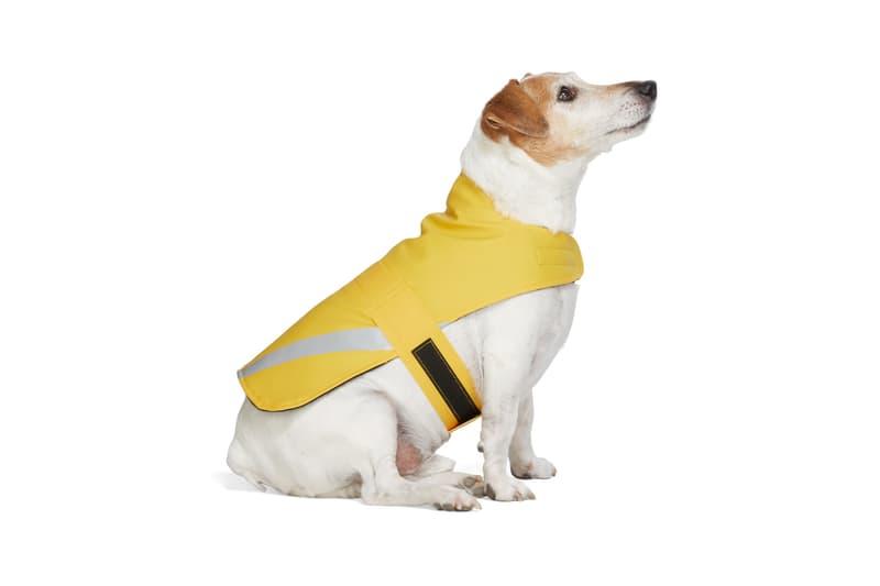 SSENSE Dog Clothing Sutterheim PVC Raincoat Yellow