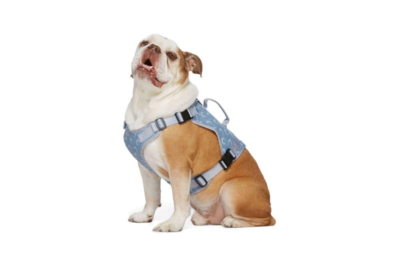 SSENSE Dog Clothing Marine Serre Harness Upcycled Denim Blue