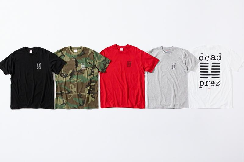 Supreme x dead prez Fall 2019 Collection Release Lookbook Range Release Date Hip Hop Music