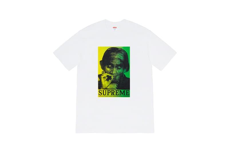 supreme graphic winter t shirts pink magenta sane smith