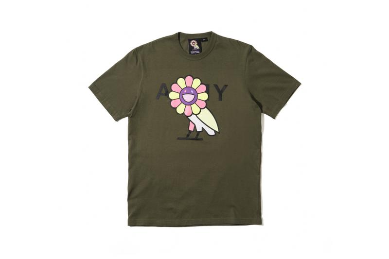 Takashi Murakami x OVO Collection T-Shirt Green