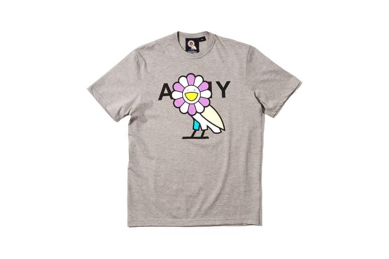 Takashi Murakami x OVO Collection T-Shirt Grey