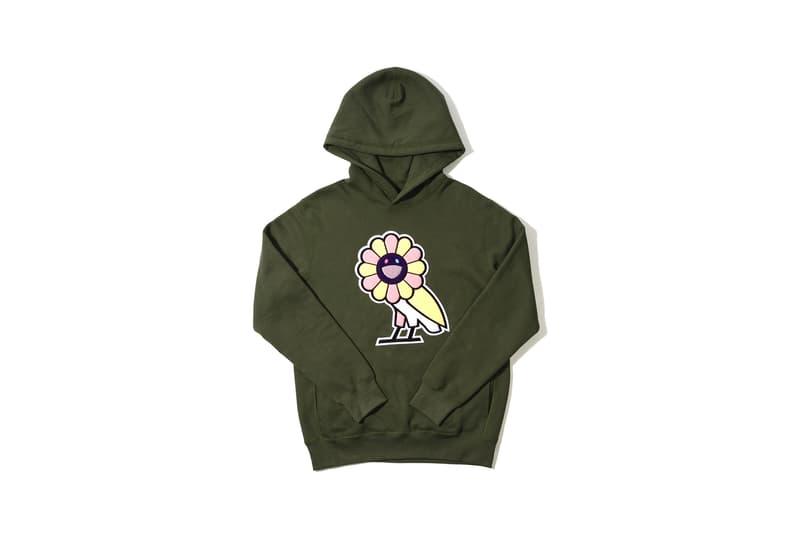 Takashi Murakami x OVO Collection Hoodie Green