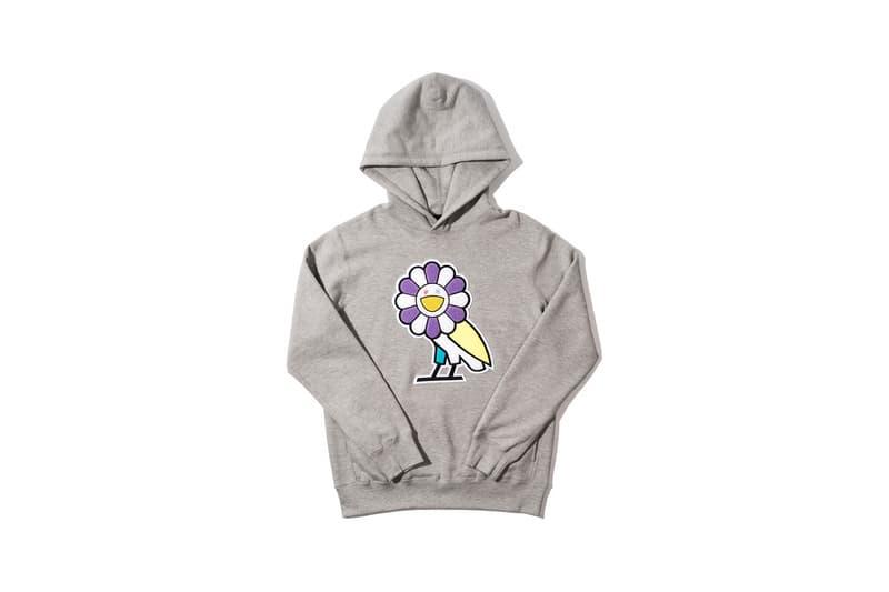 Takashi Murakami x OVO Collection Hoodie Grey